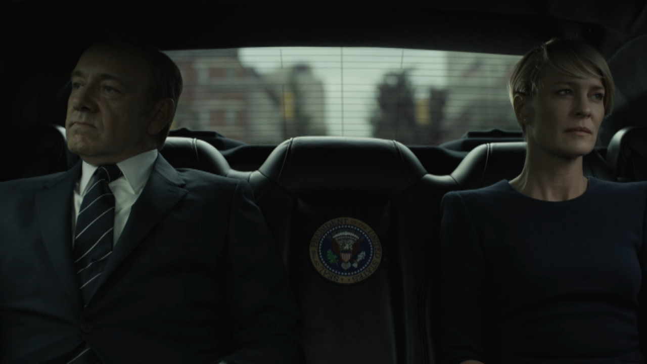 House of cards modeled after clintons