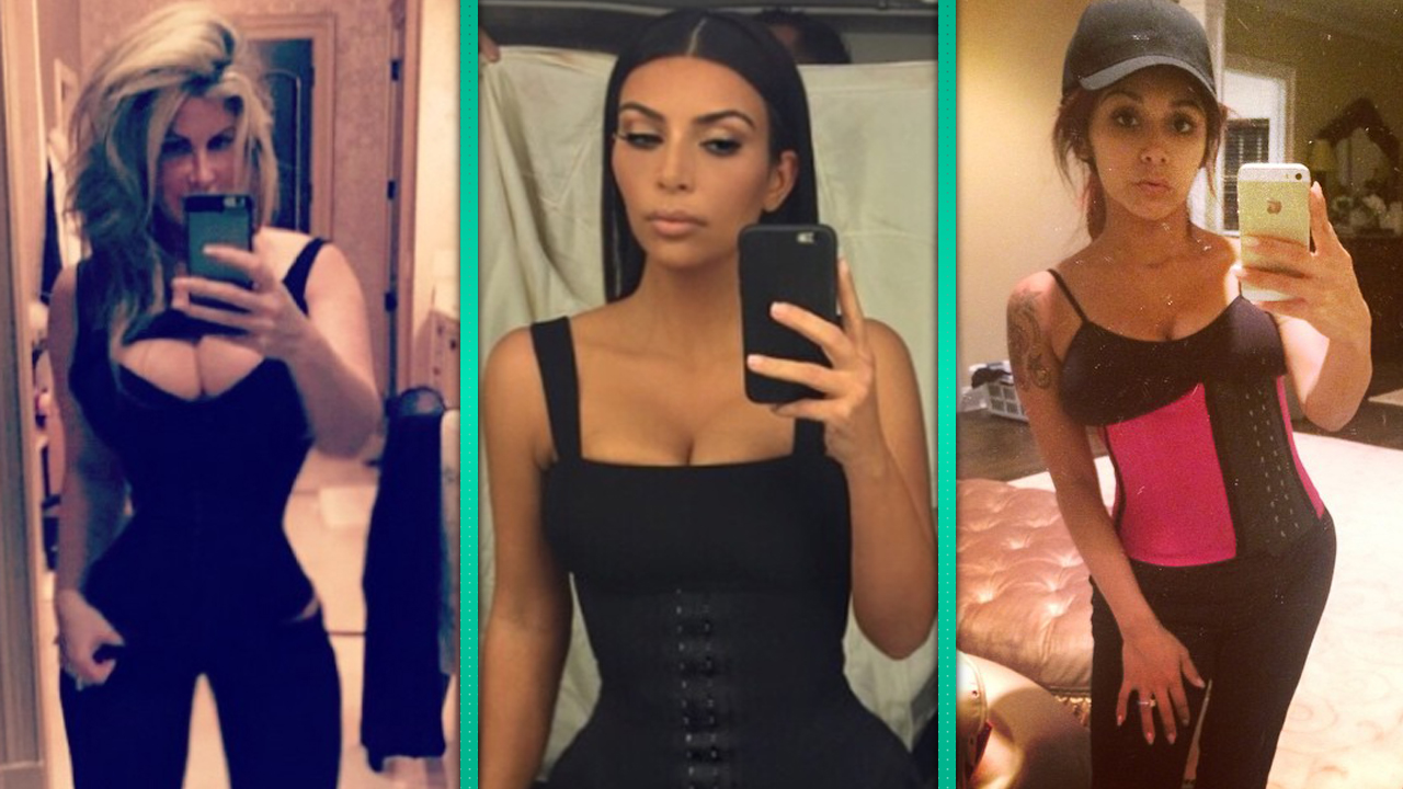 b4ed3d9a90547 Khloe Kardashian Shares Shocking Waist Training Pic   Once You Try ...
