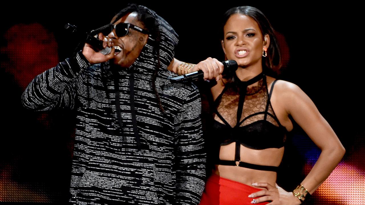 Christina Milian Admits She S Dating Lil Wayne I Do Love Him