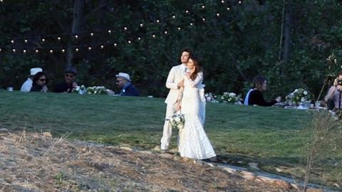 Inside nikki reed and ian somerhalders fairytale wedding see inside nikki reed and ian somerhalders fairytale wedding see the gorgeous pics entertainment tonight junglespirit Choice Image