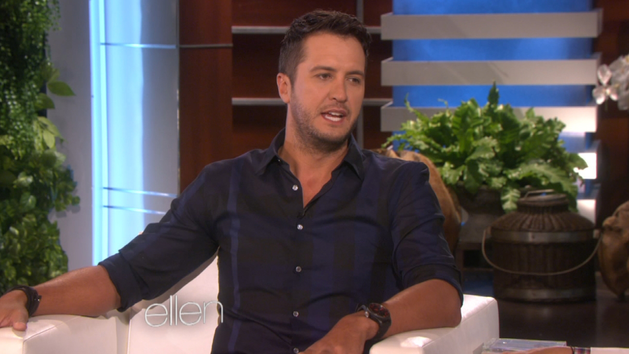 Luke bryan on raising his nephew you re not fooling a 13 year old entertainment tonight