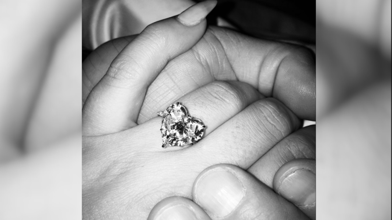 Blinged-Out Celeb Engagement Rings by the Numbers | Entertainment ...