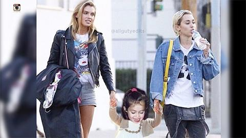 miley cyrus dating a supermodel