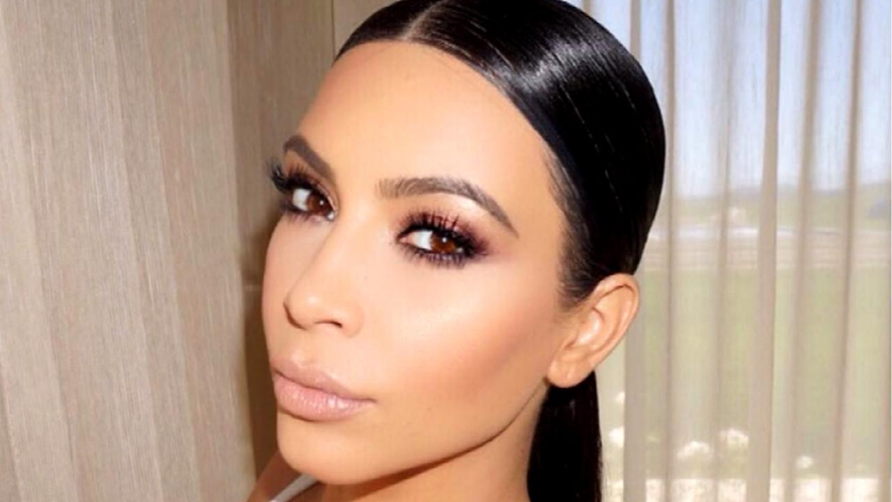 Watch Kim Kardashian's Makeup Artist Do 'Speed Contouring