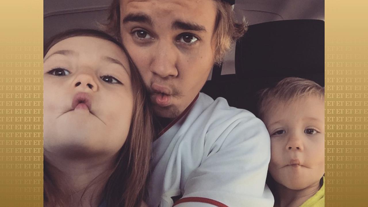 Justin Bieber's Siblings, Jazmyn and Jaxon, Sing 'Baby