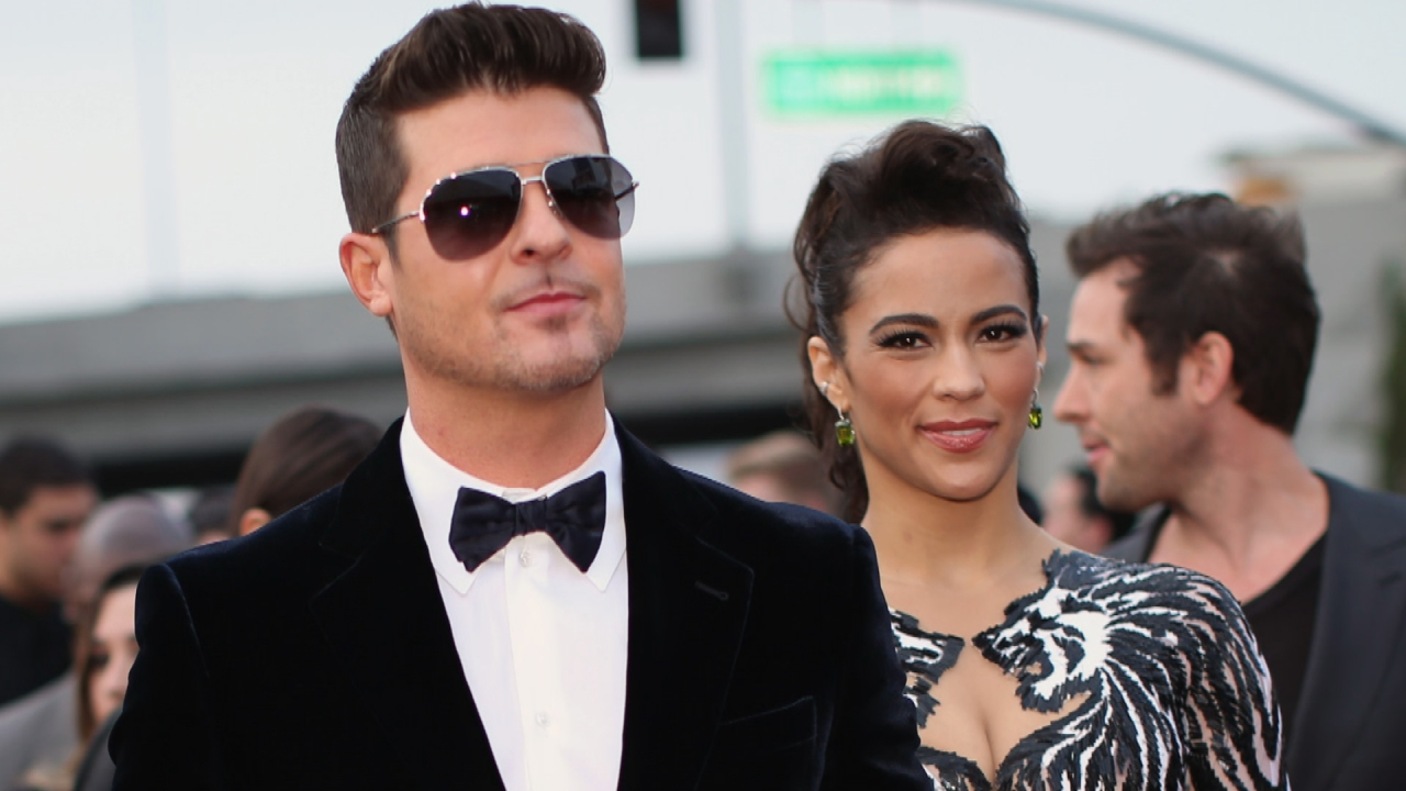 Image result for robin thicke and paula patton