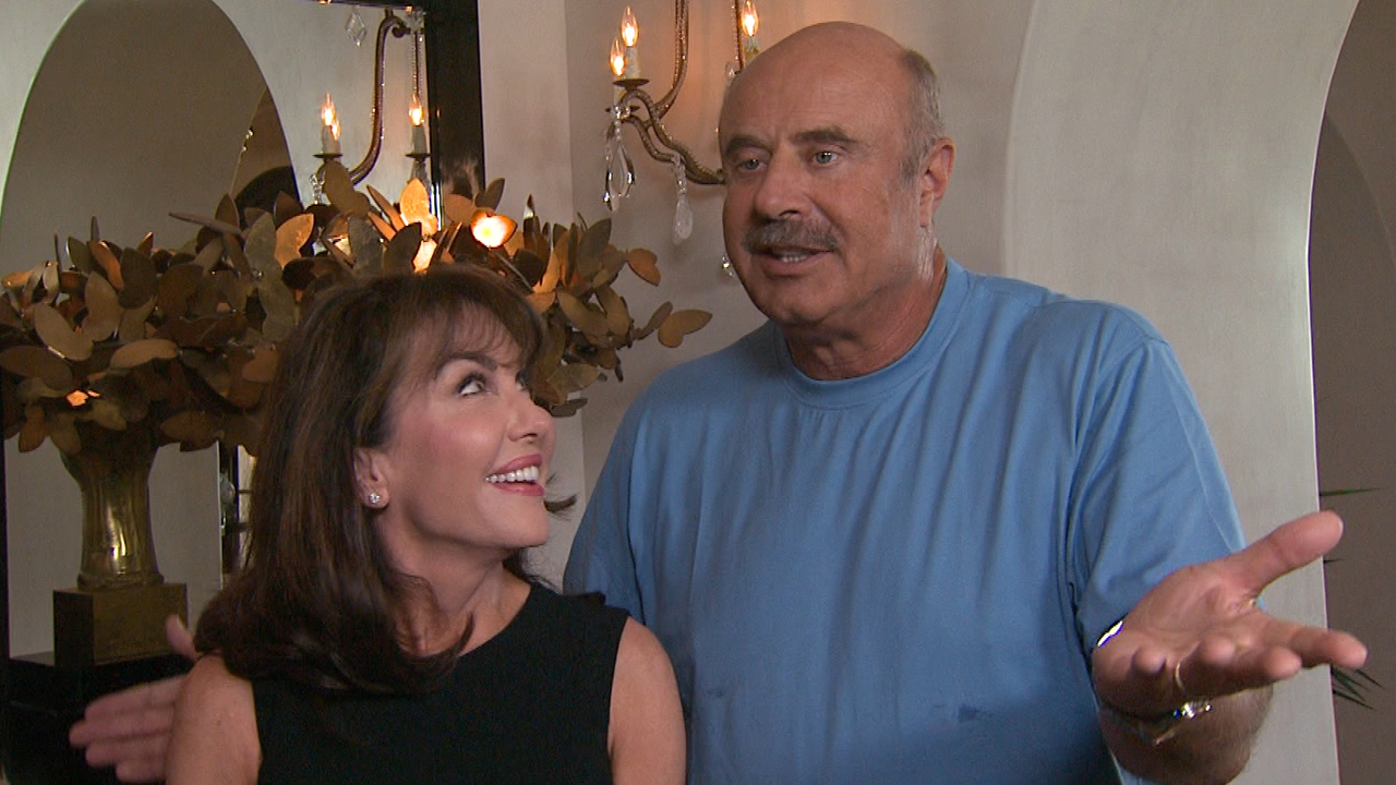 Dr Phils Wife Robin Mcgraw Surprises Him With Loving Video For