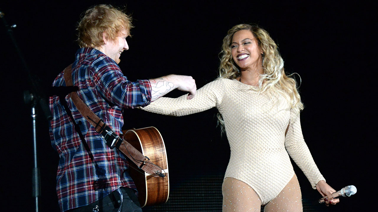 c0811602396 Beyonce and Ed Sheeran Perform Epic  Drunk In Love  Duet at Global Citizen  Festival