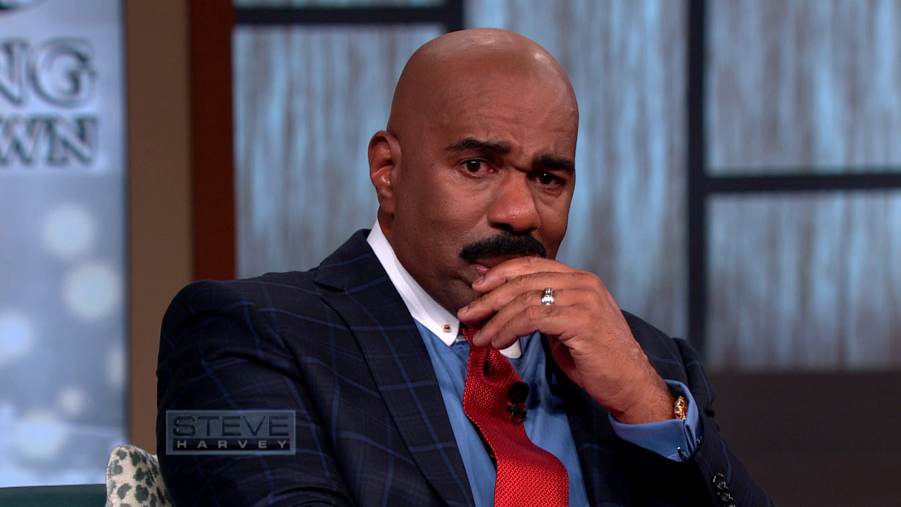 Steve Harvey Tears Up Talking About Daughters Upcoming Wedding