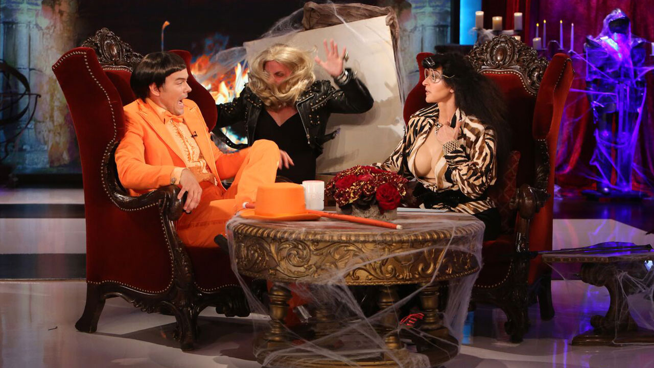 Ellen DeGeneres Scares the Crap Out of Josh Duhamel for Halloween ...