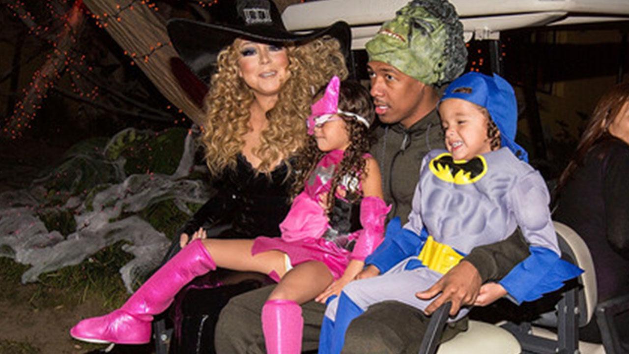EXCLUSIVE: Mariah Carey on Celebrating Halloween With Ex Nick ...