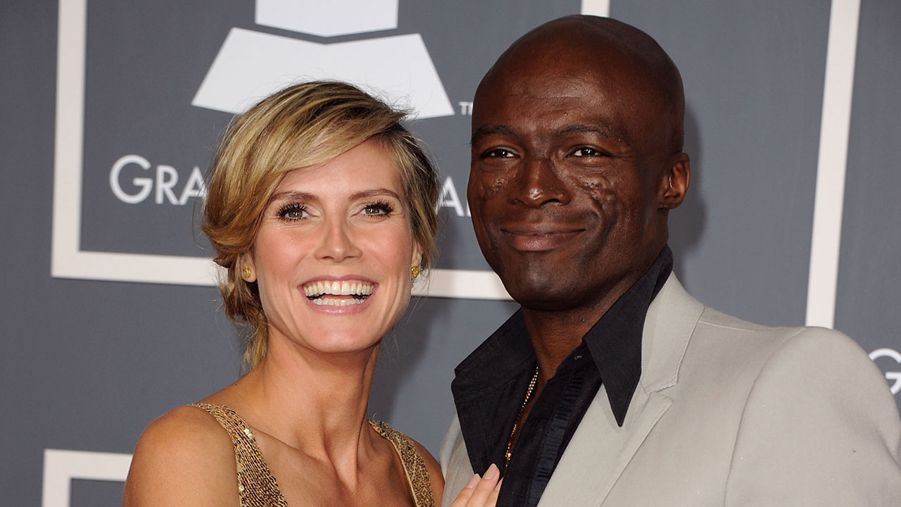 Divorced husband and wife: Seal and Heidi and Seal