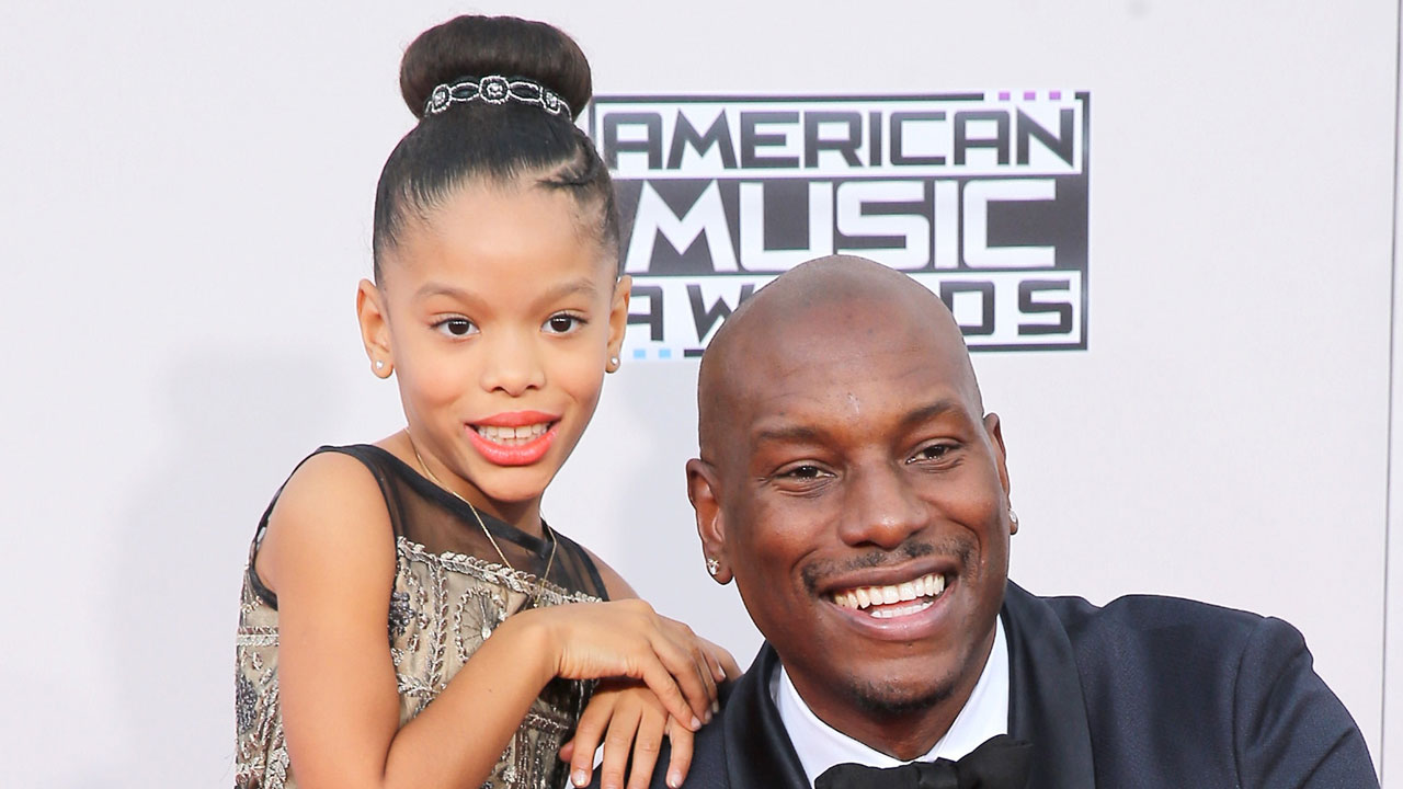 Pics photos tyrese gibson picture 8 - Tyrese Buys His 8 Year Old Daughter An Island For Christmas Your Move Santa Entertainment Tonight