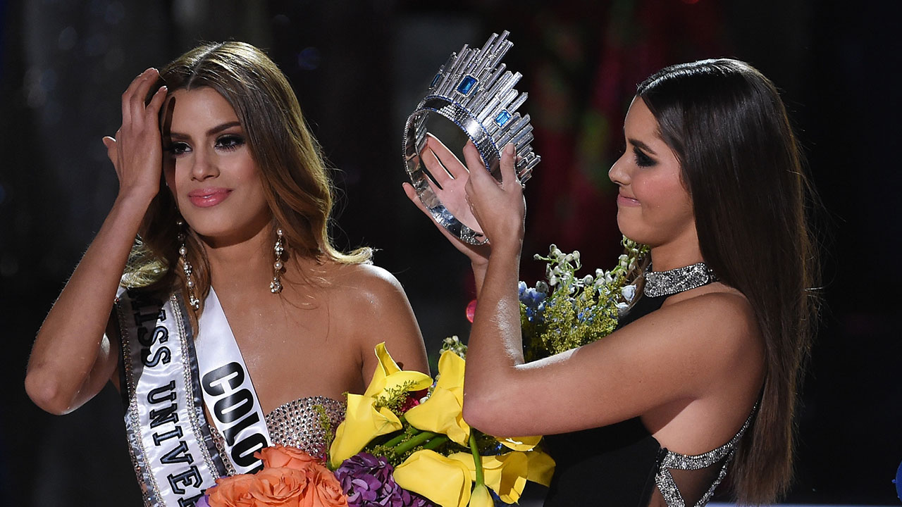 Miss Colombia Is Not Letting Go of The Miss Universe 2015