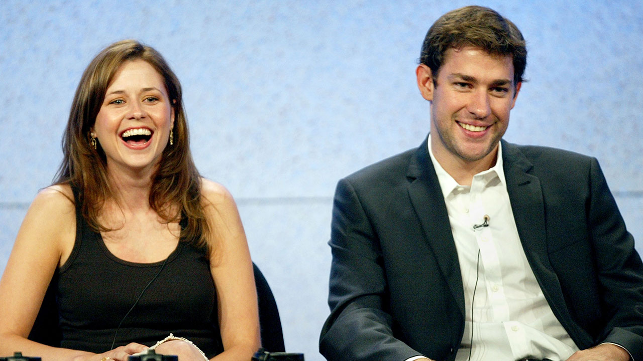 Jim And Pam Wedding.Jenna Fischer Reveals She And John Krasinski Were Genuinely In Love