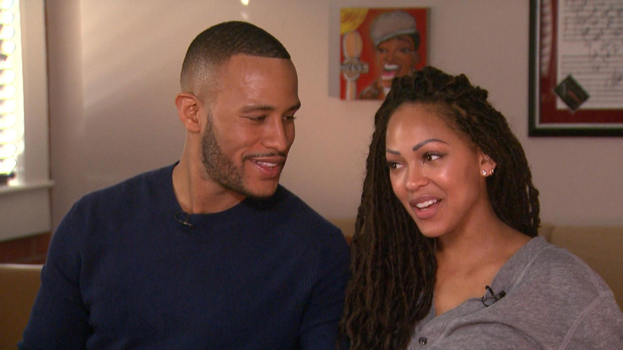 Exclusive How Celibacy Brought Meagan Good And Husband Devon Franklin Closer Together Entertainment Tonight