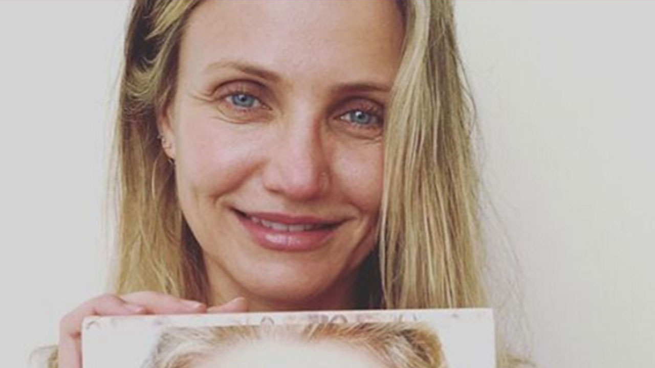Cameron Diaz, 43, Is Completely Makeup-Free in Bold New Pic