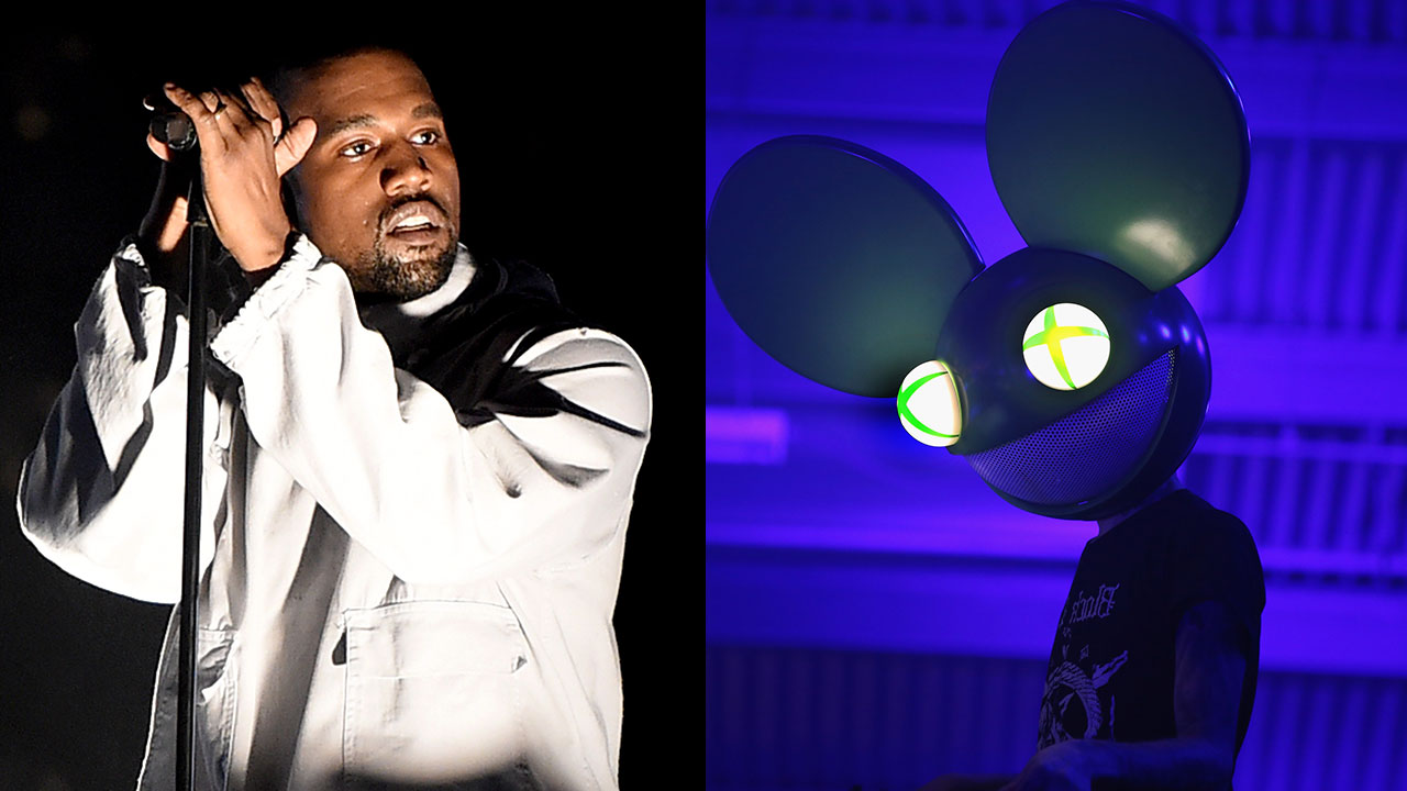 82a69d866353 Kanye West Trolls Deadmau5 After DJ Accuses Him of Illegally Downloading  Music