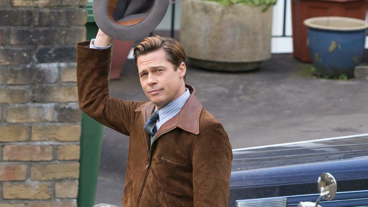 Brad Pitt Rocks Clean-Cut Look and Proves That Age Is