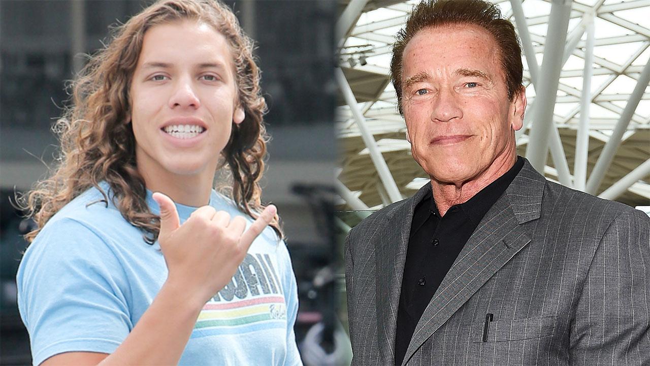 Arnold Schwarzenegger's 18-Year-Old Son Joseph Baena Looks So Much