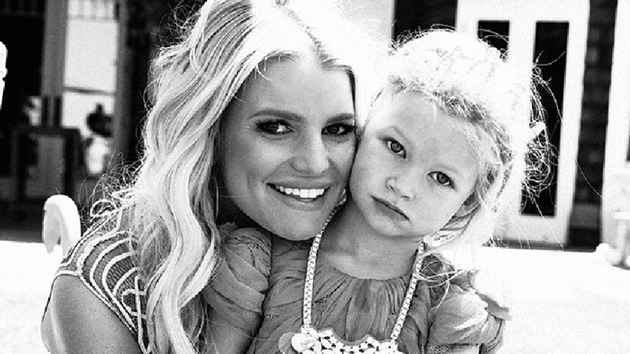 6124b1526033f Jessica Simpson Is Not Ready for Daughter Maxwell to Turn 4 -- See the  Sweet Pic