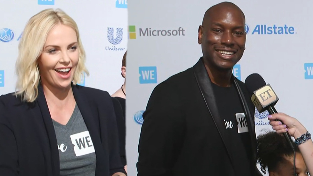 Pics photos tyrese gibson picture 8 - Exclusive Tyrese Gibson Excited Charlize Theron Is Joining Fast Furious 8 Cast Welcome To The Family Entertainment Tonight