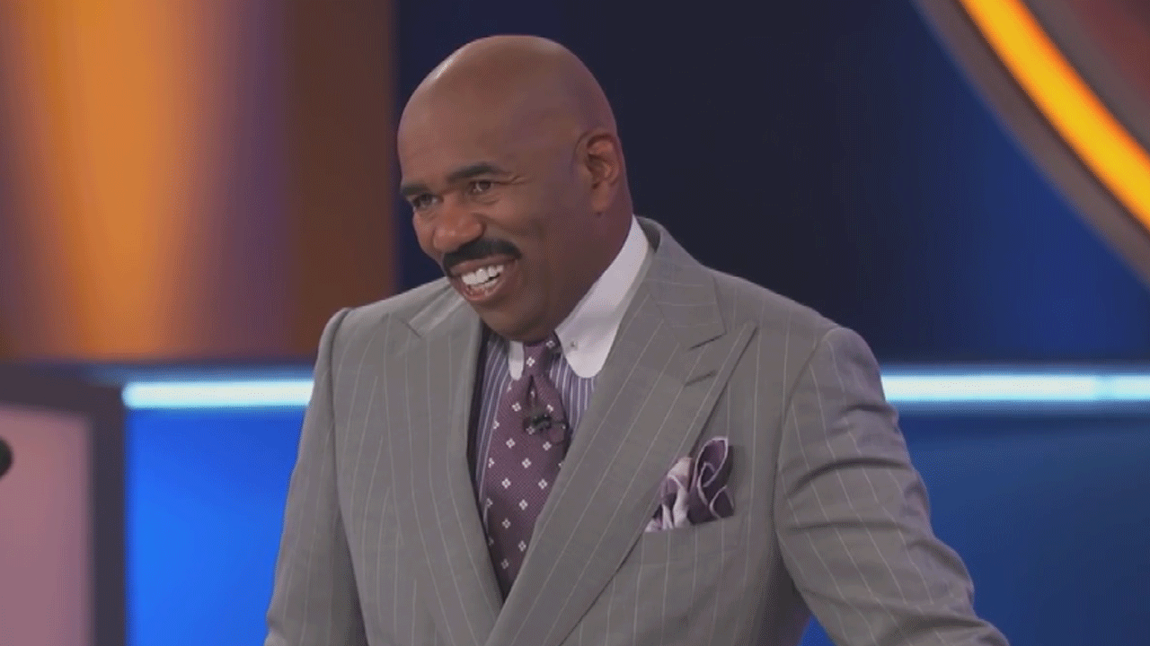 EXCLUSIVE: Steve Harvey Can't Even Handle This Woman's Answer on