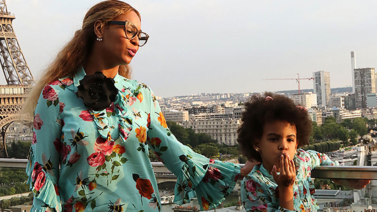 49fd456e311 Beyonce and Blue Ivy Are Adorably Twinning During European Vacay -- Check  Out the Pics!