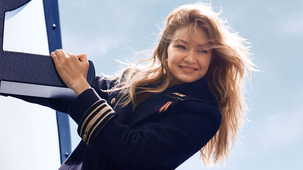 c63868b38f05b7 EXCLUSIVE: Gigi Hadid Takes Command in New Tommy Hilfiger Fragrance Campaign