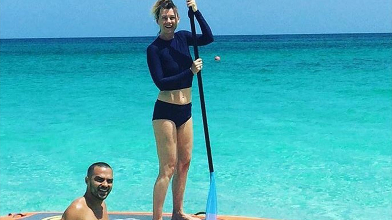 Jesse Williams Vacations With 'Grey's Anatomy' Co-Star Ellen