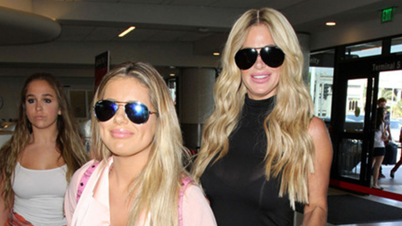 d5b68b3832868 Kim Zolciak and Daughter Brielle Are All Smiles Showing Off Their  Freshly-Plumped Lips!