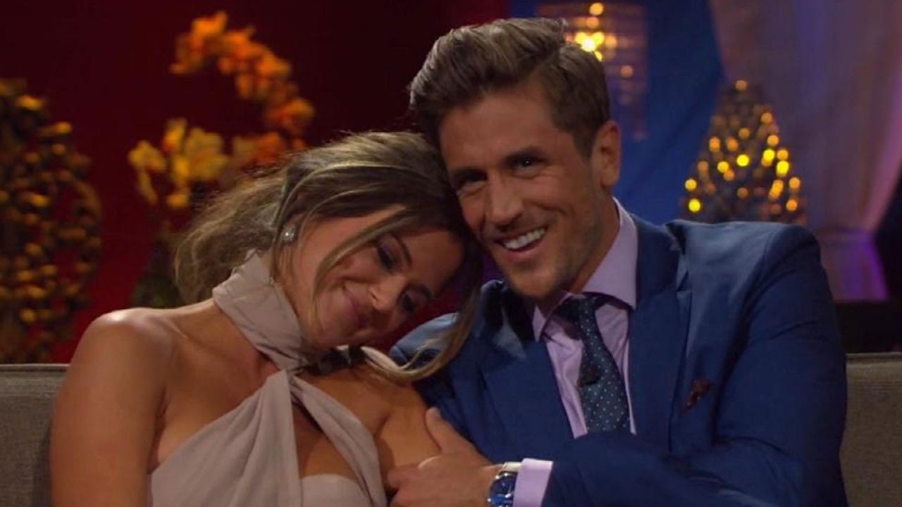 JoJo Fletcher And Jordan Rodgers Talk Rift With His Brother Aaron Its Not The Focus For Us Right Now