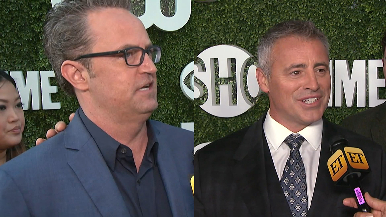 EXCLUSIVE: Matt LeBlanc on His 'Friends' Reunion With