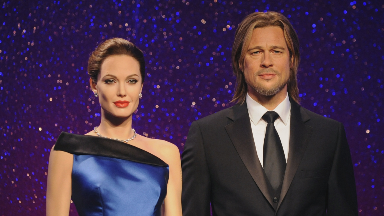 Brad Pitt and Angelina Jolie's Wax Figures Are Separated After Couple Announces Split