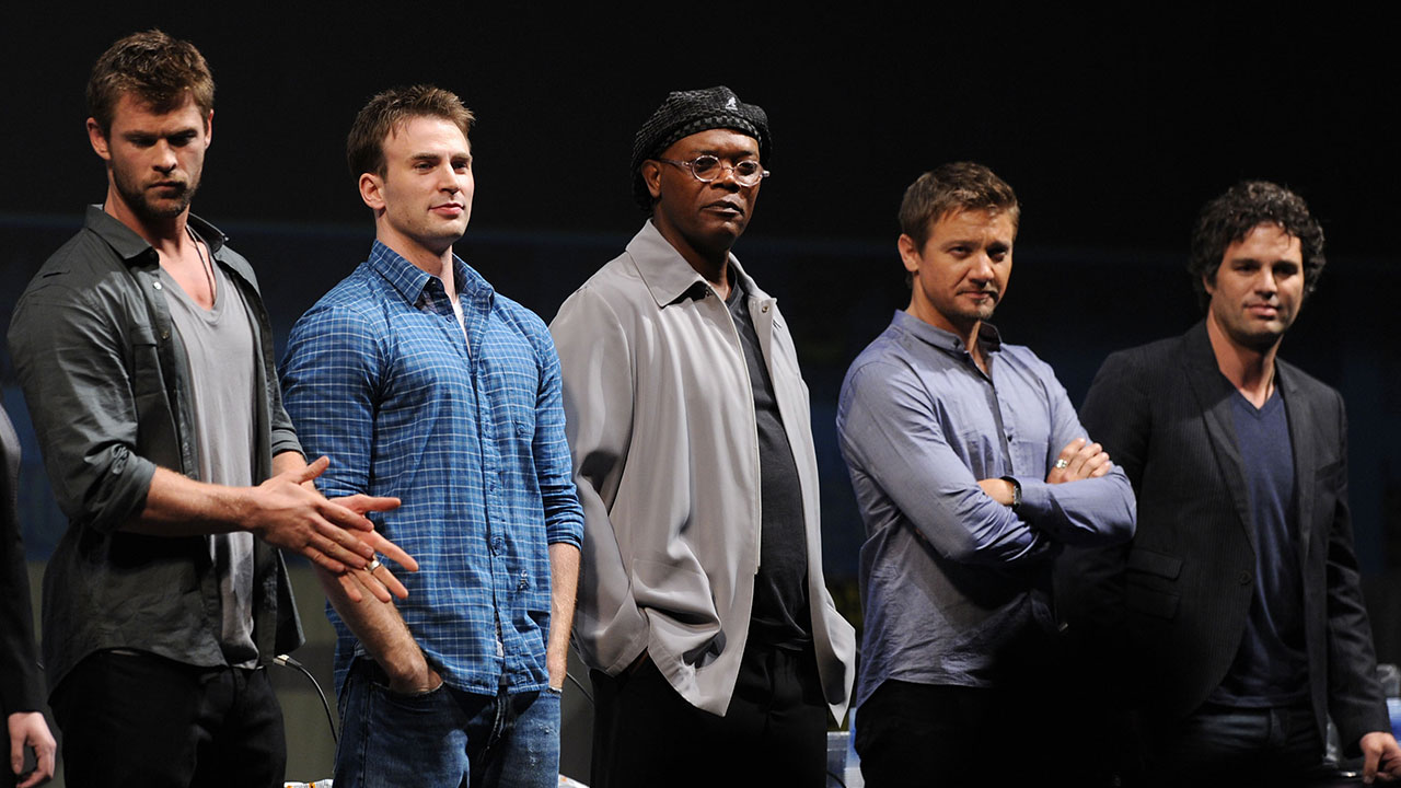 The Avengers' Stars Band Together to Stand With Standing