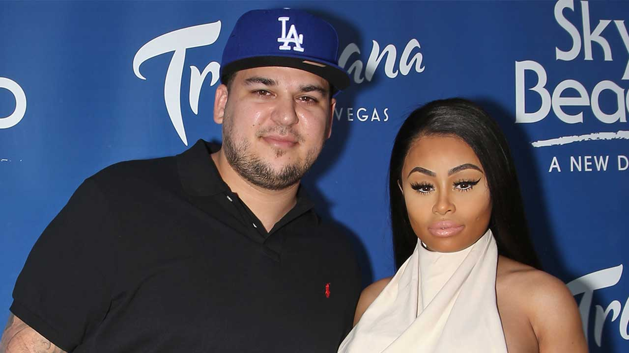 Rob Kardashian Shares New Photos of Blac Chyna and Baby Dream