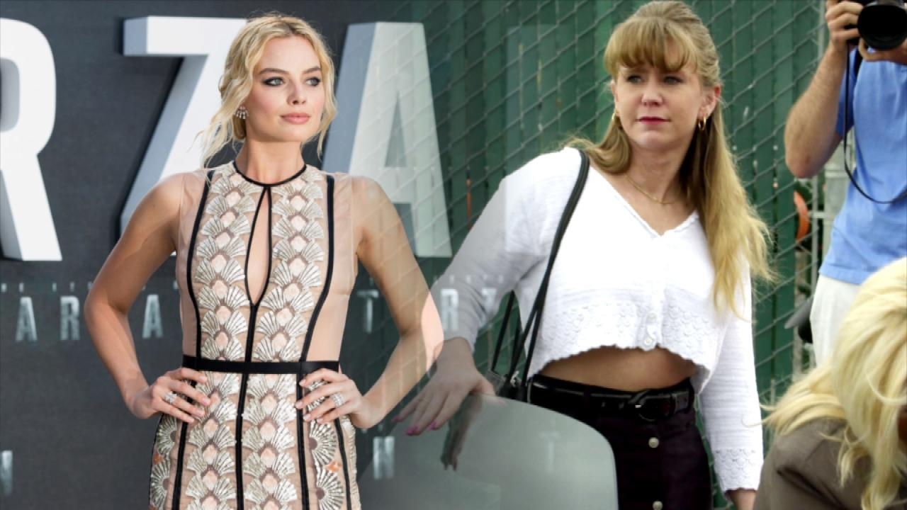 Margot Robbie Takes To The Ice As She Continues To Channel Tonya