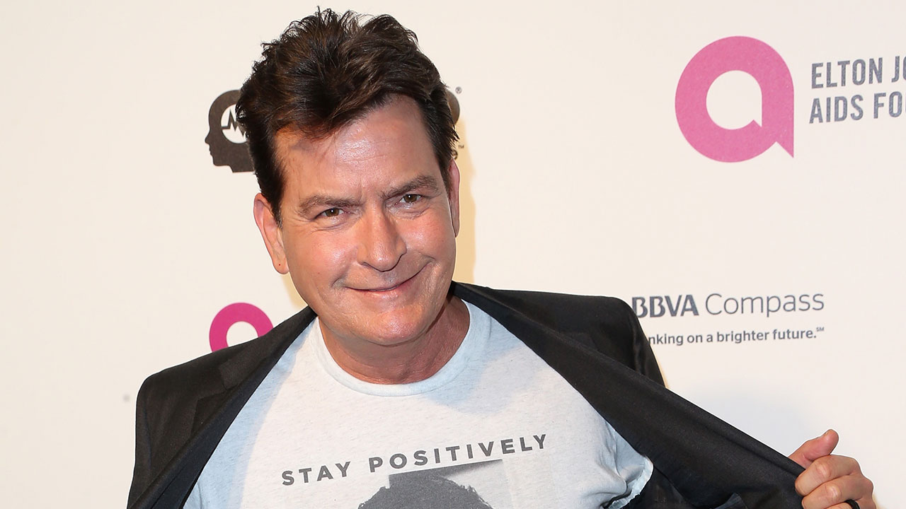 Charlie sheen reveals new girlfriend while attending his charlie sheen reveals new girlfriend while attending his daughters birthday dinner see the pic entertainment tonight thecheapjerseys Image collections
