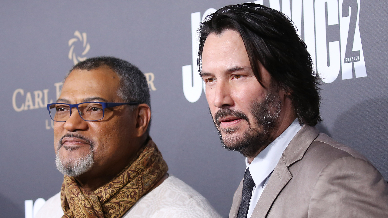 EXCLUSIVE: Keanu Reeves and Laurence Fishburne Dish on Their