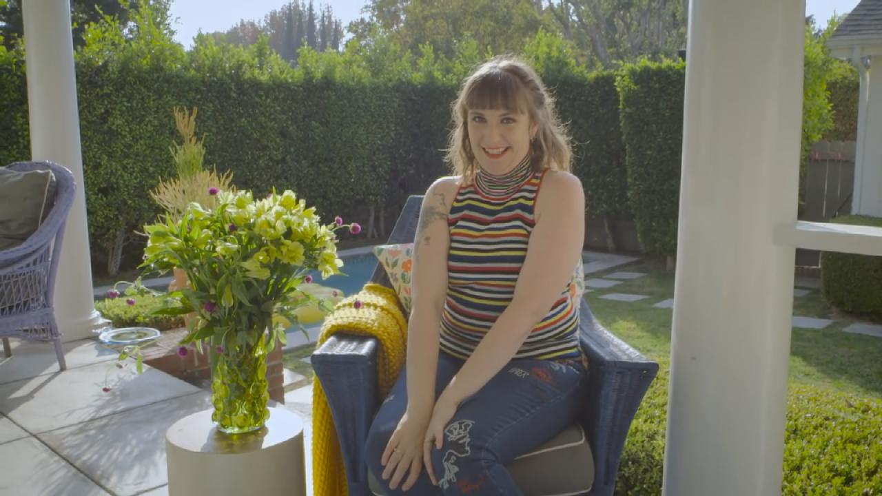 9bab9d568 Lena Dunham Explains All 9 of Her Tattoos -- and Reveals Her Plans for a  10th!