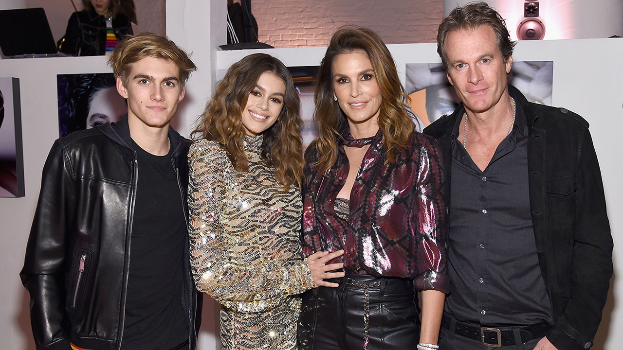 Cindy Crawford Attends Marc Jacobs Party in Honor of