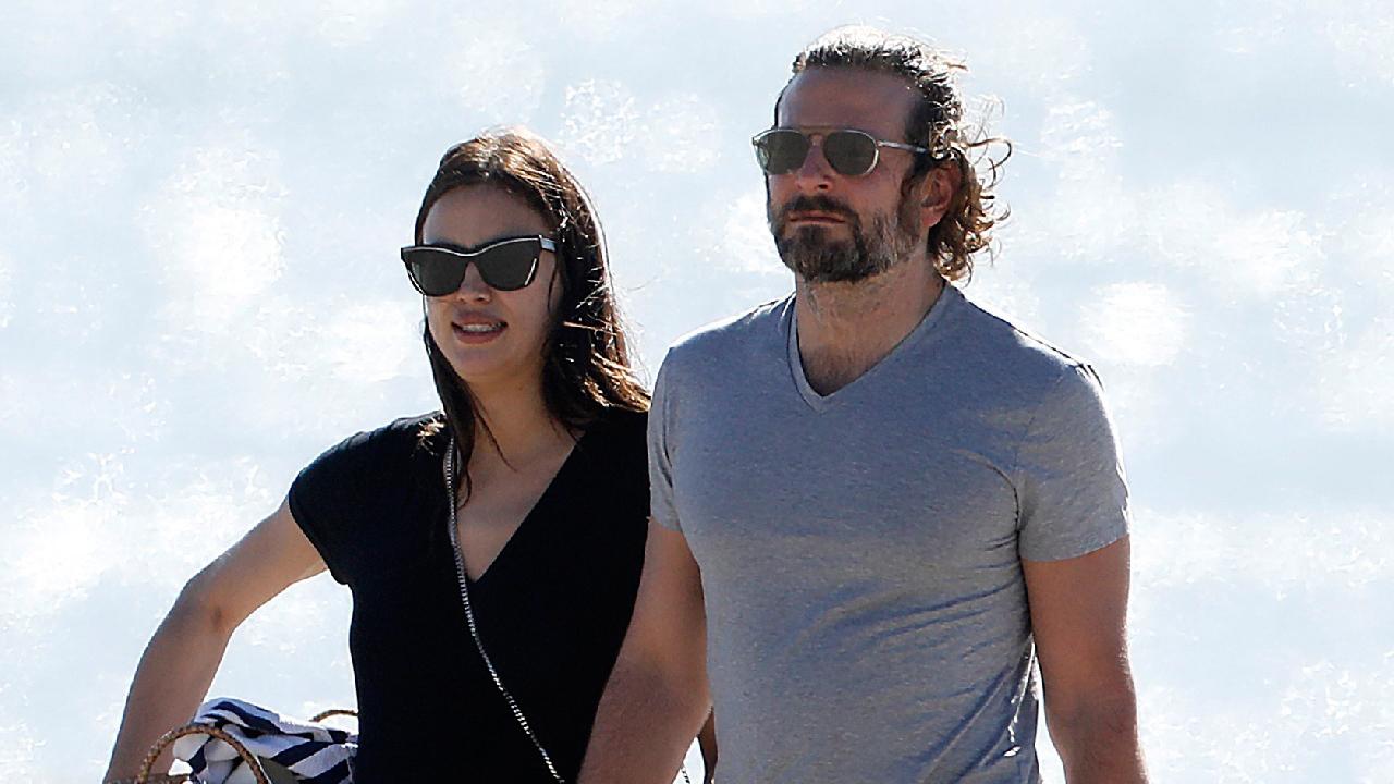fec44bab0 Bradley Cooper and Pregnant Irina Shayk Show PDA on Romantic Beach Picnic:  Pics!