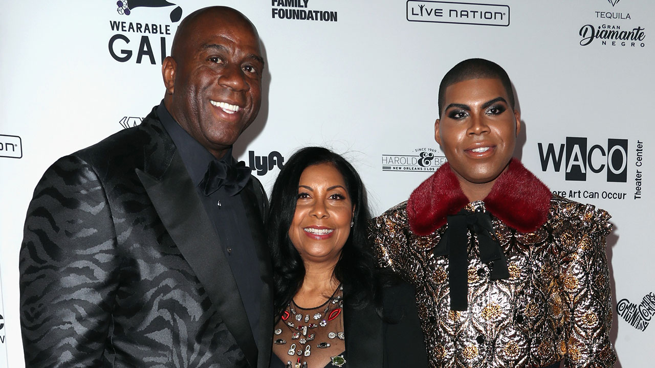 EXCLUSIVE Magic Johnson Says Son EJ Always Looks Fabulous Asks