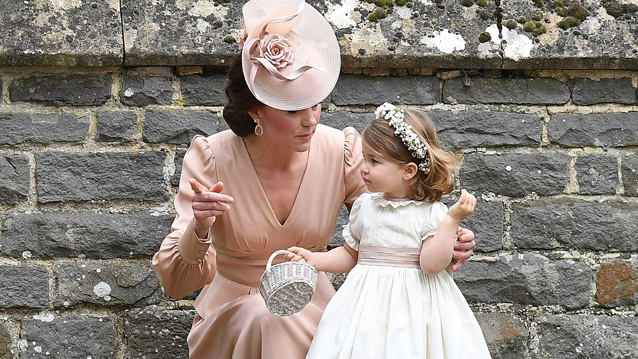 3e4c1d18de7fb Kate Middleton and Princess Charlotte Are the Cutest Mother-Daughter Duo at Pippa  Middleton s Wedding