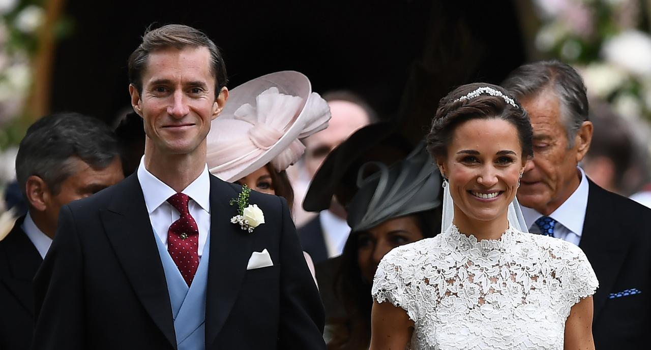 roger federer attends pippa middletons wedding with wife mirka entertainment tonight