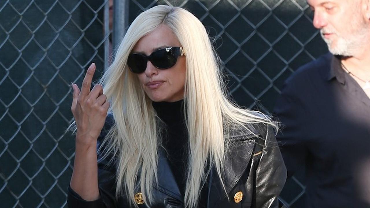 5f05eaf8e8 Penelope Cruz Channels Donatella Versace While Filming 'American ...