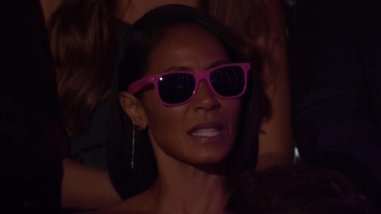 c137260cb2 Jada Pinkett Smith Rocks Out to Miranda Lambert s  Pink Sunglasses  and Country  Fans Are Loving It!