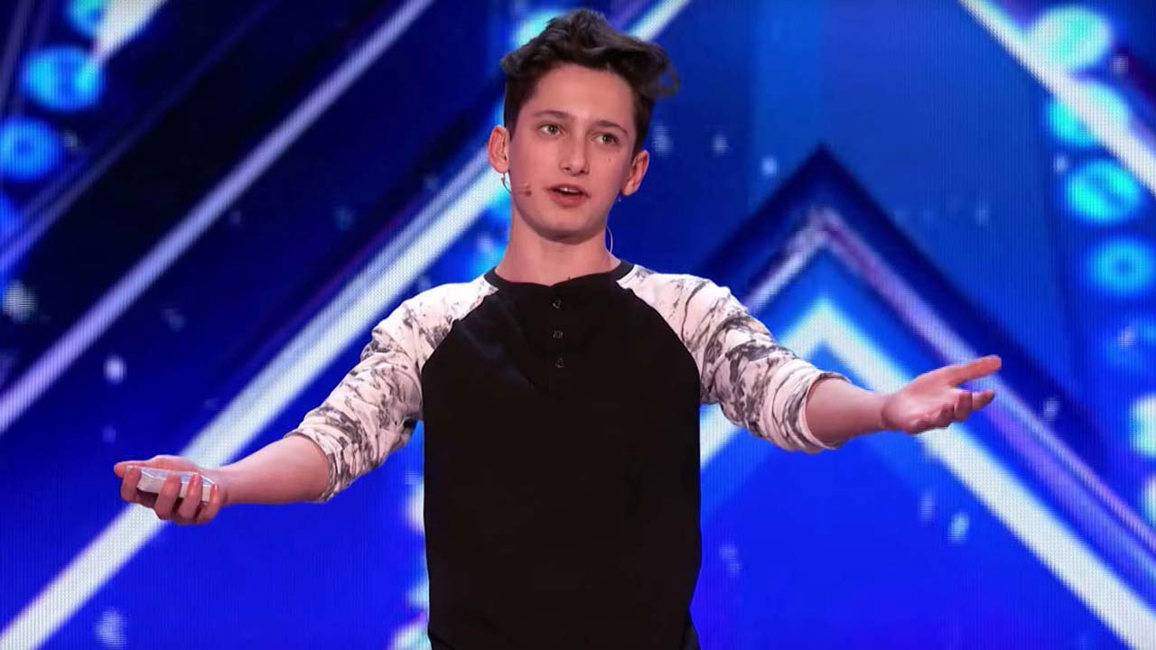 Americas got talent 2017 june - 15 Year Old Magician Leaves America S Got Talent Judges Spellbound With Epic Card Tricks Entertainment Tonight