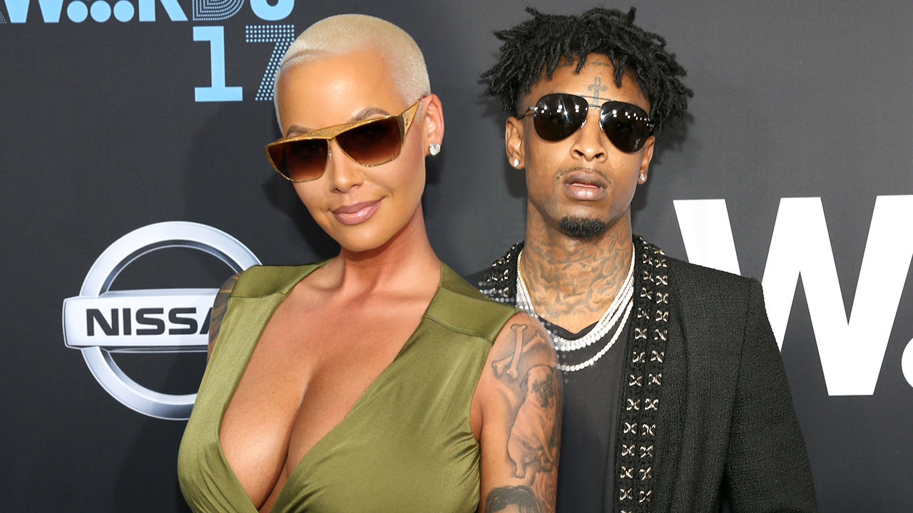 newest 4c187 8441a Amber Rose Gushes Over New Boyfriend 21 Savage  He  Genuinely Has My Back
