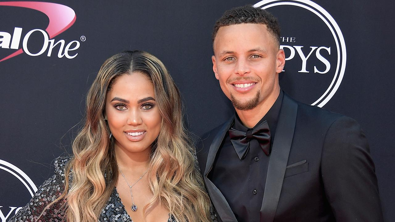 56467512e3d6 Steph and Ayesha Curry Are Ultimate Couple Goals on the ESPYs Red Carpet --  See the Pics!